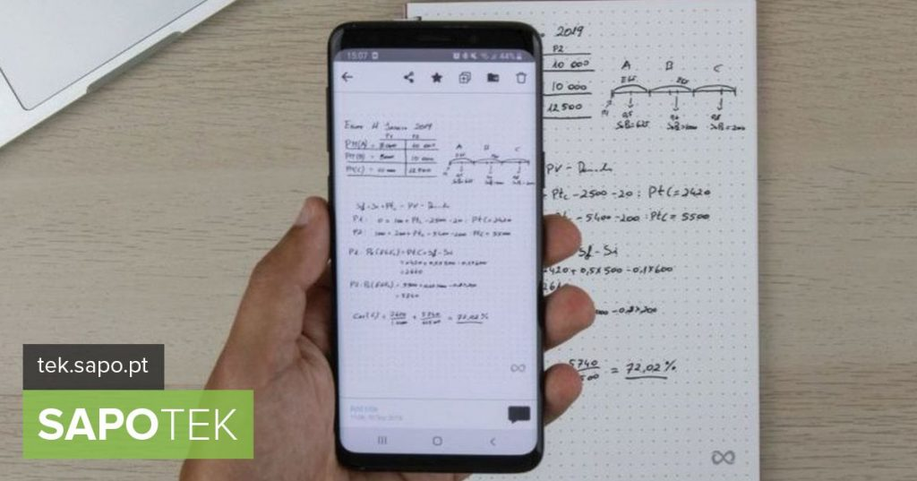 Don't let ideas get lost on paper with the new Portuguese app Infinitebook - Android