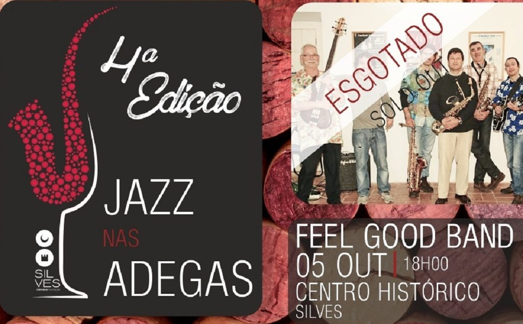 Feel Good Band at the 1st Cellar Jazz Session - Jornal diariOnline Southern Region