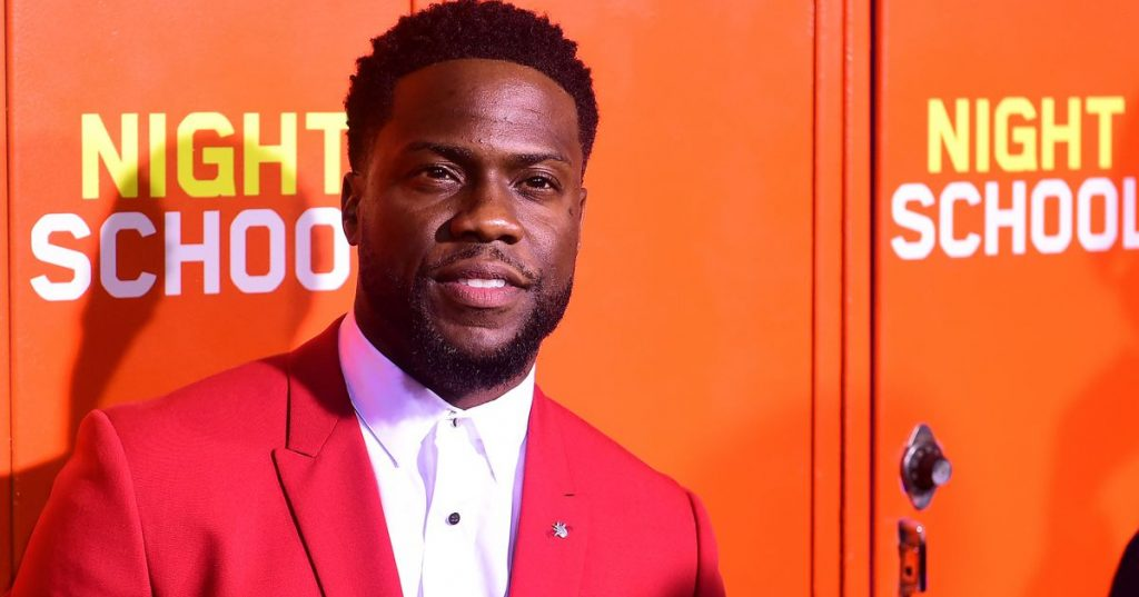 """Kevin Hart hospitalized after """"serious injuries"""" in car accident - Showbiz"""