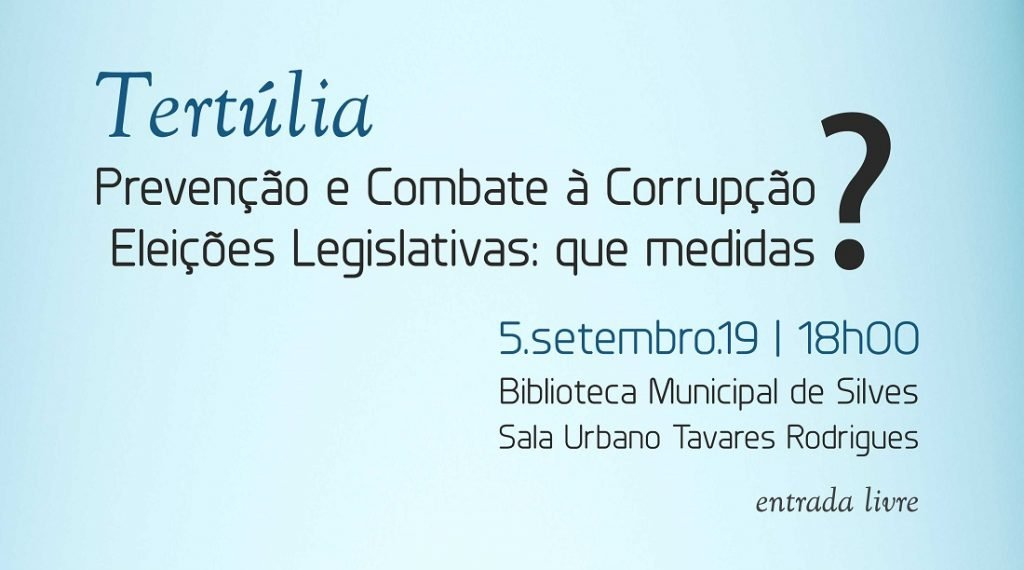 Prevention and fight against corruption in Silves - Jornal diariOnline Southern Region