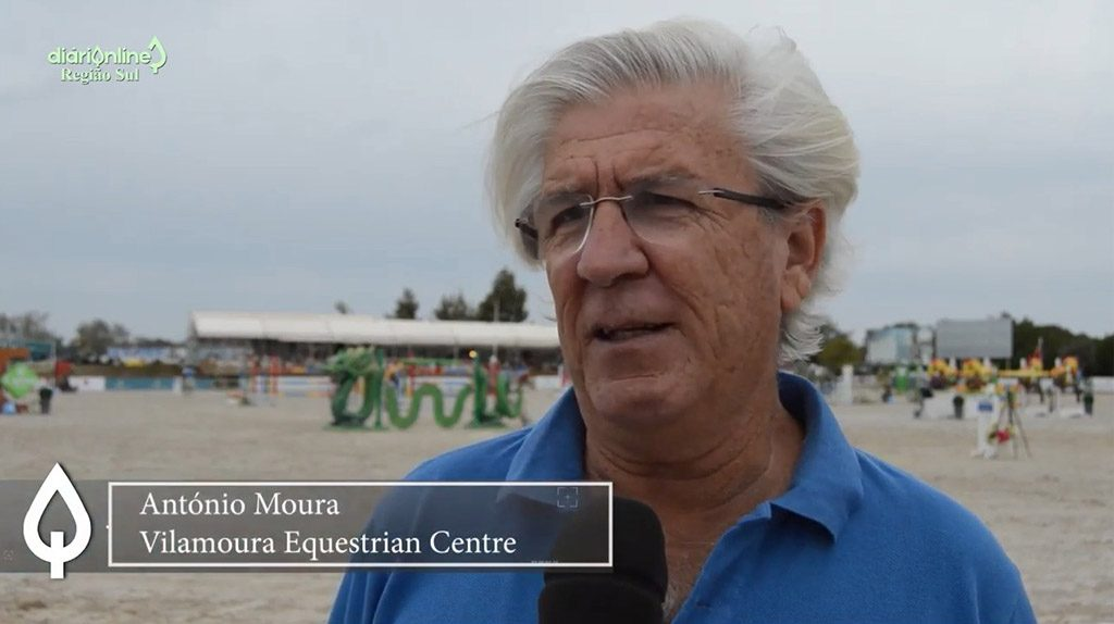 """To have a World Equestrian Championship in Vilamoura only need the money"" - António Moura - Jornal diariOnline Southern Region"