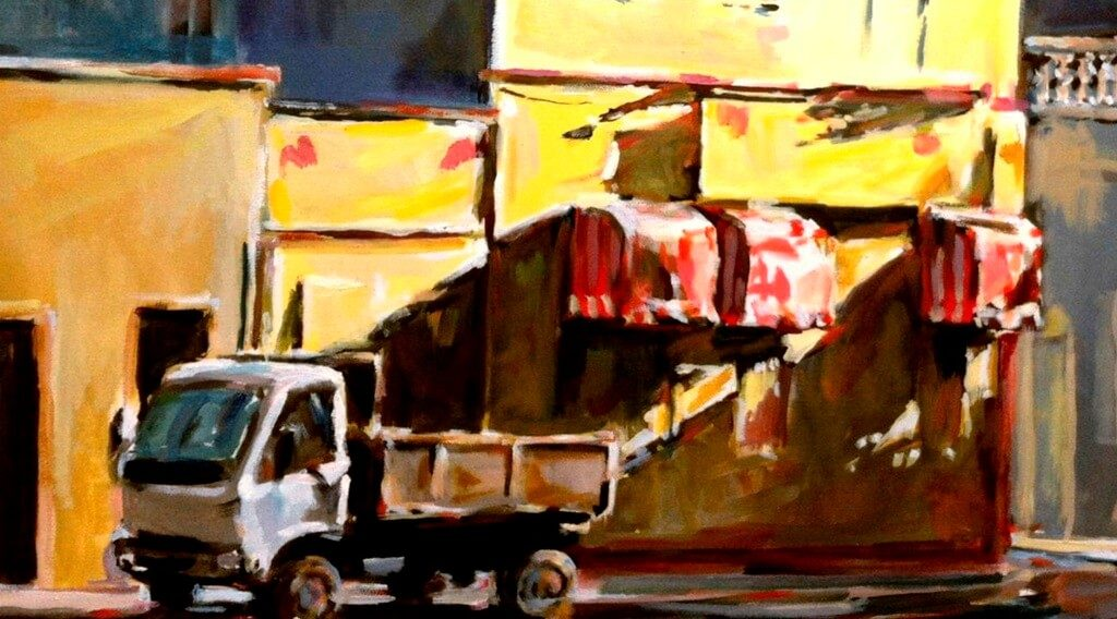 American Realist painter exhibition opens today in Olhão - Jornal diariOnline Southern Region