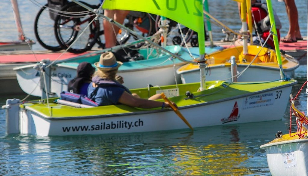 More than 100 sailors from ten countries compete in Portimão at European Adapted Sailing - Jornal diariOnline Southern Region