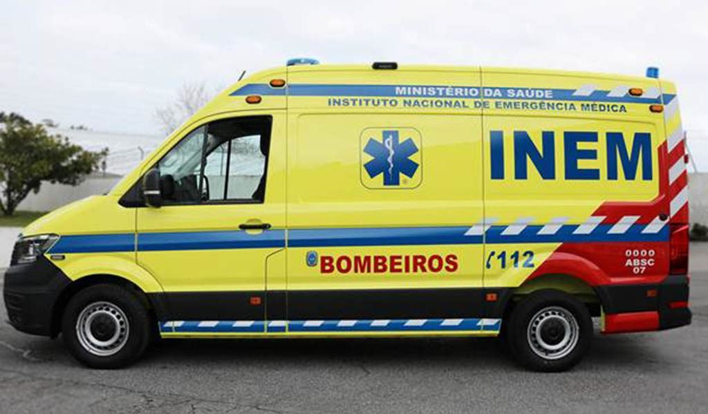 INEM renews 75 ambulances based in medical emergency stations - Jornal diariOnline Southern Region
