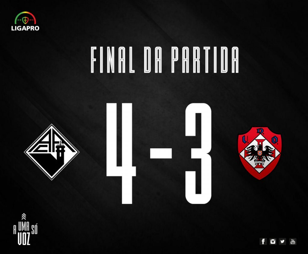 Diário As Beiras - Academic beats Oliveirense and ends the year smiling