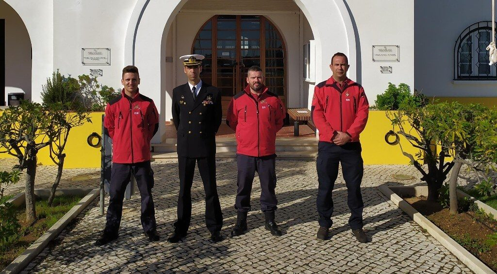 Ferragudo Lifeguard Station welcomes two trainees - Jornal diariOnline Southern Region. Your news portal Algarve and Alentejo Portugal