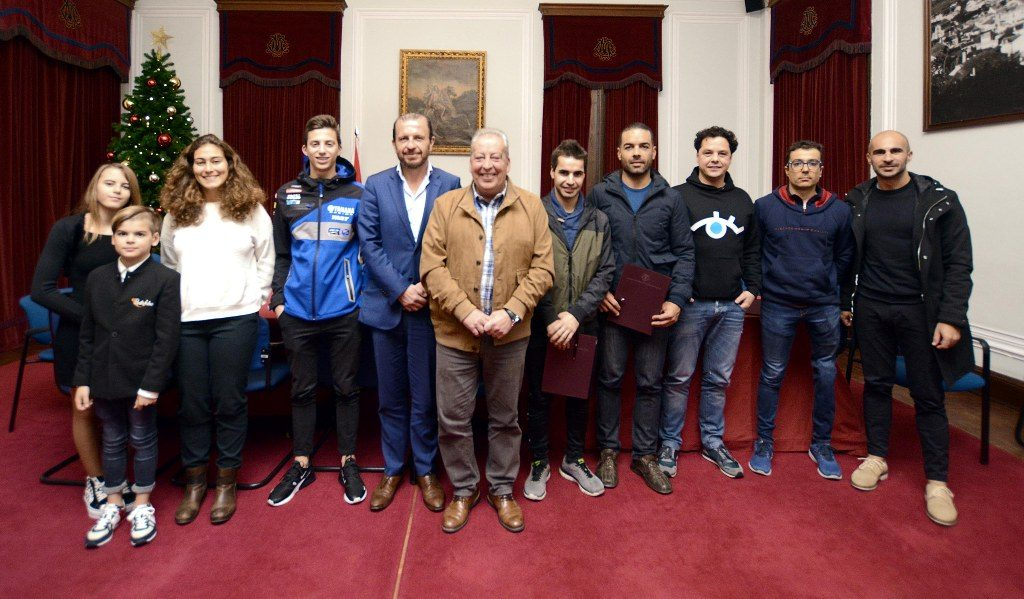 Santiago do Cacém City Council supports 11 athletes from the municipality