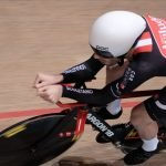 Aviludo / Louletano cyclist participates in the World Track
