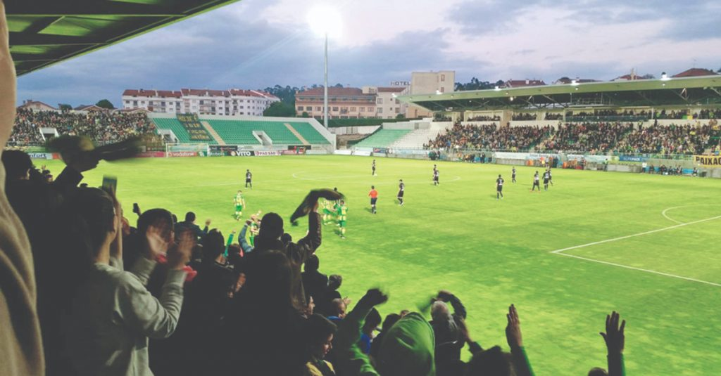 Tondela has one of the ten stadiums approved for the return of the 1st League