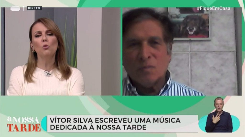 Algarve artist Vítor Silva releases song that is the anthem of the program 'A Nossa Tarde' on RTP