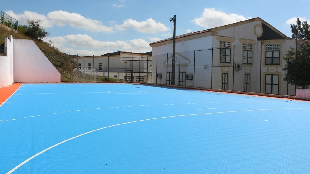 Completion of the Alcoutim School Sports Center completed