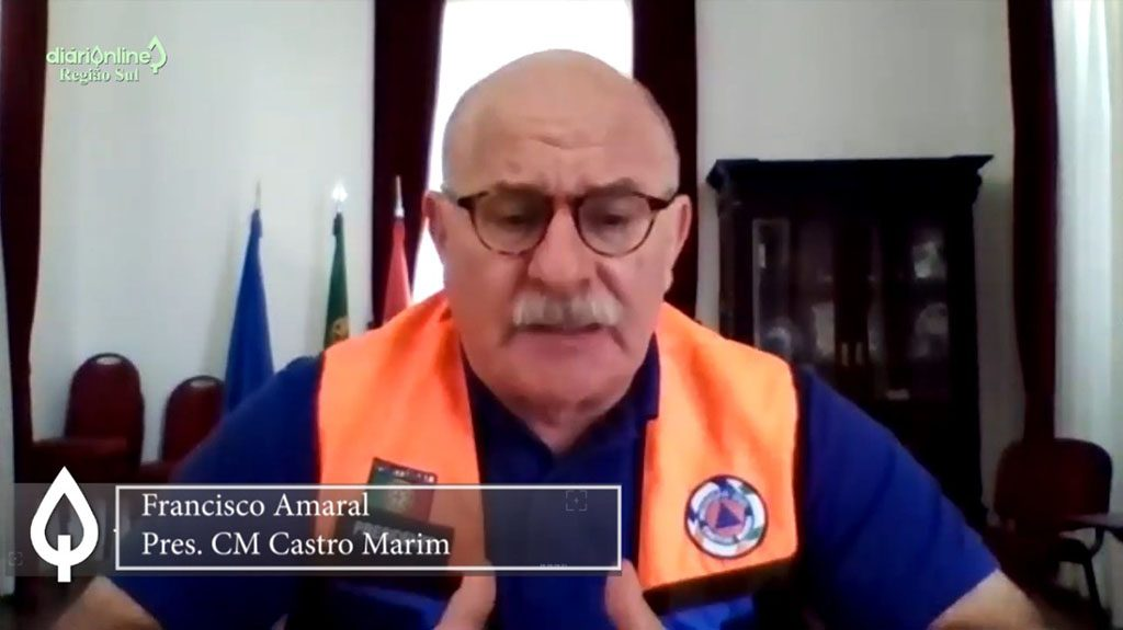"""""""Unemployment is at stake, difficulties are already being felt…"""" - Francisco Amaral / CM Castro Marim"""