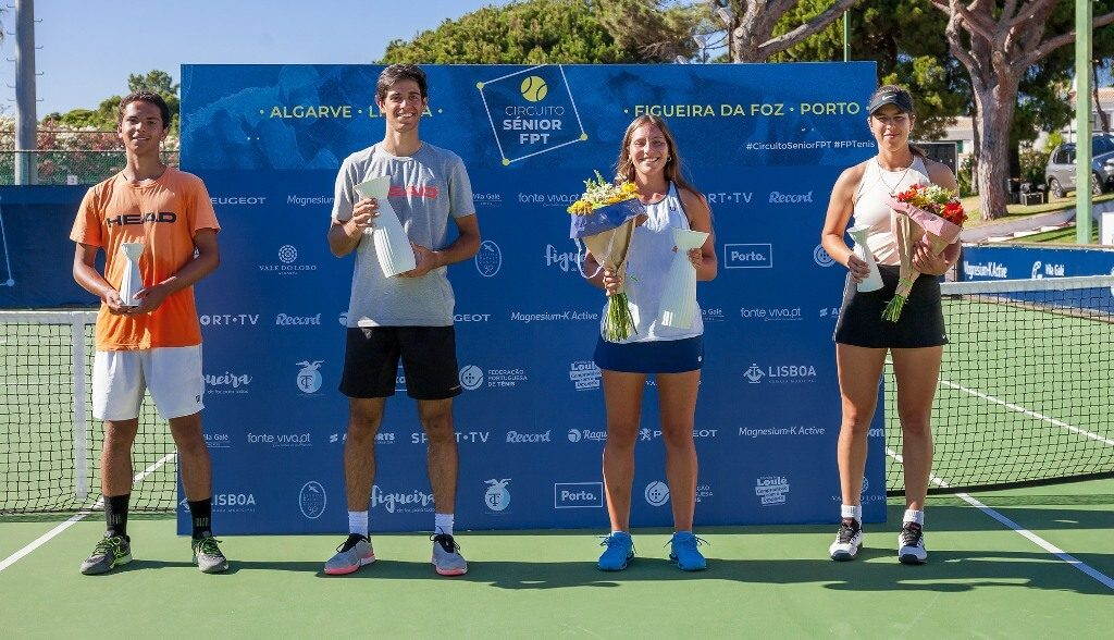 Nuno Borges and Francisca Jorge triumphed in Vale do Lobo at the opening of the FPT Senior Circuit