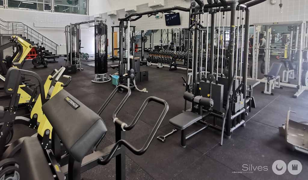 Silves already has a new municipal gym