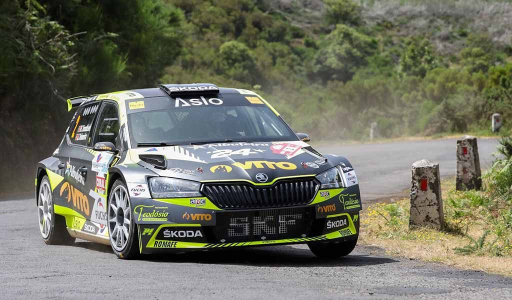 """We were always trying things for the Madeira Wine Rally"" Ricardo Teodósio and José Teixeira at Rally da Calheta"