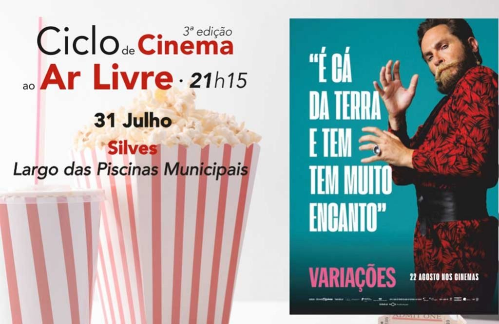 """Variations"" on the big screen, outdoors, in Silves"