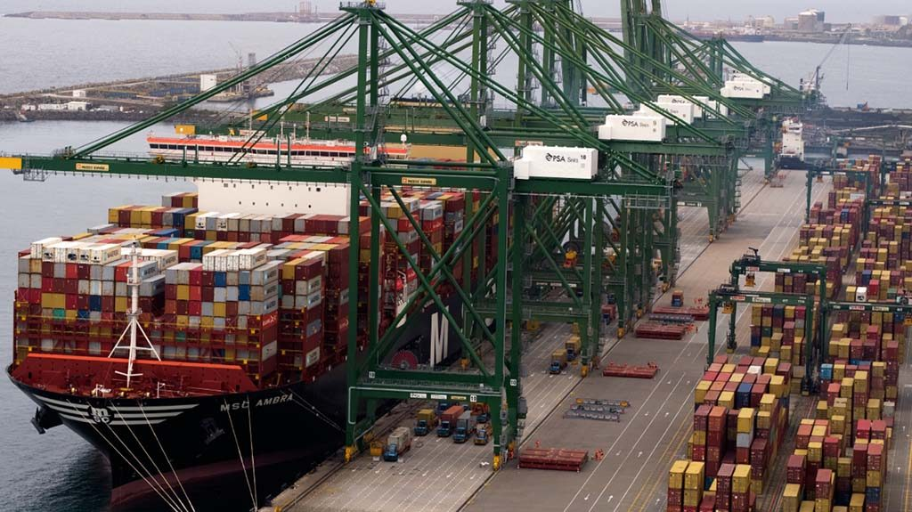 Port of Sines withstands worldwide drops in containerized cargo