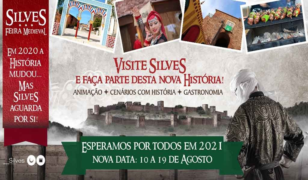 Silves dresses in medieval times in August
