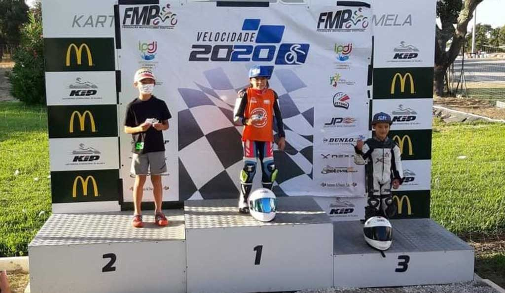 Algarve driver Carlota Sério wins first race of the 2020 FMP Speed ​​Championship in Palmela