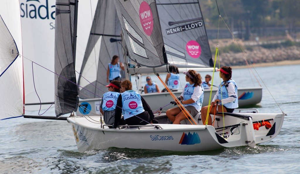Algarve sailors qualify for the European final of Women On Water
