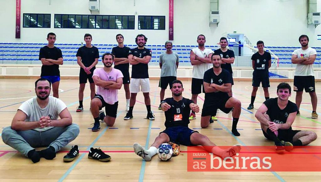 "Diário As Beiras - Andebol da Académica is focused on ""one goal: reaching the 2nd Division"""