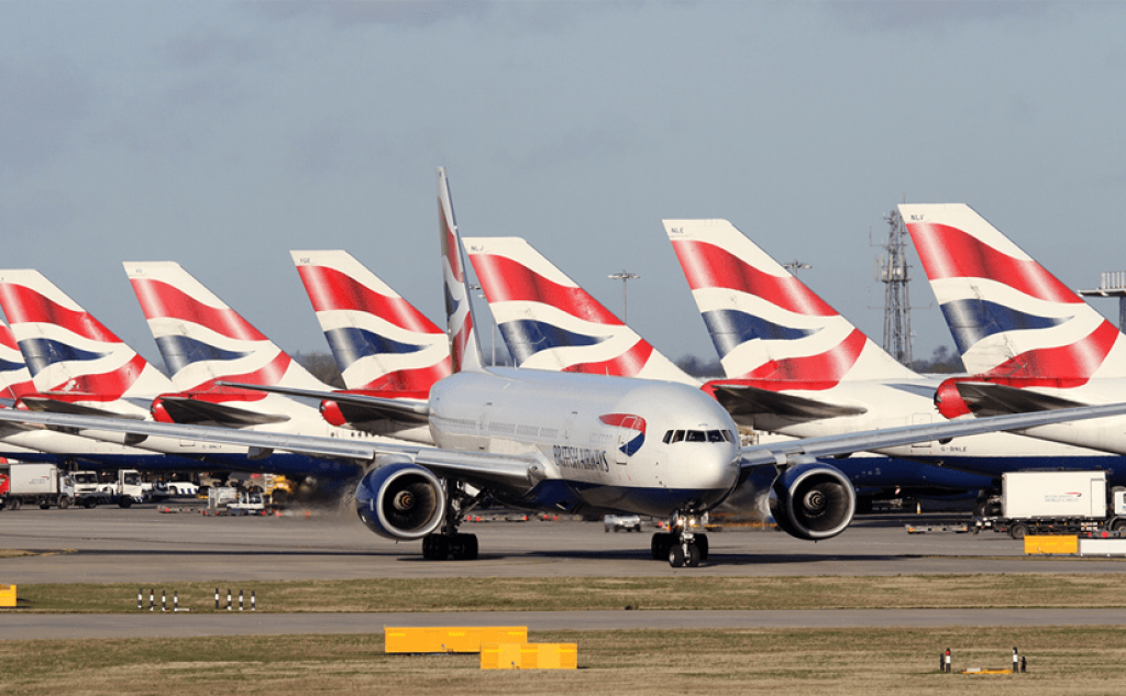 Portugal is again excluded from the UK air corridor