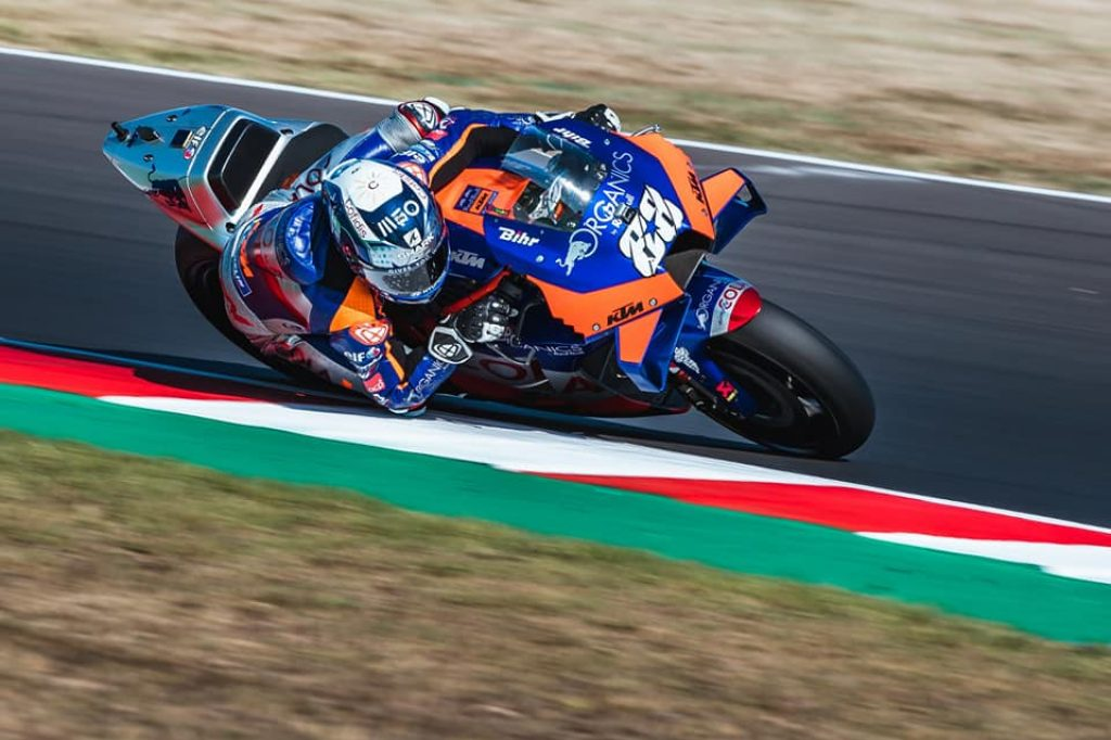 """In the race it will be the attack from start to finish"" Miguel Oliveira in MotoGP in San Marino"