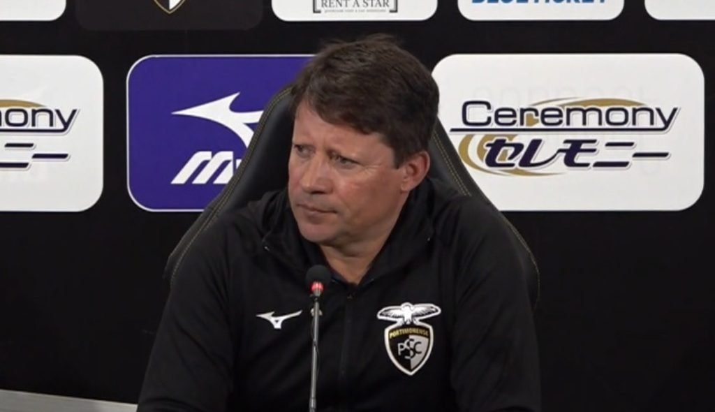 "A point in two matches is ""manifestly short"", admits Portimonense coach"