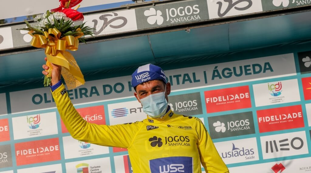 "Amaro Antunes remains ""yellow"" after Daniel McLay's triumph in the 5th stage"