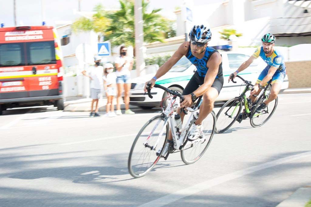 "Galé once again received ""Albufeira Triathlon"""