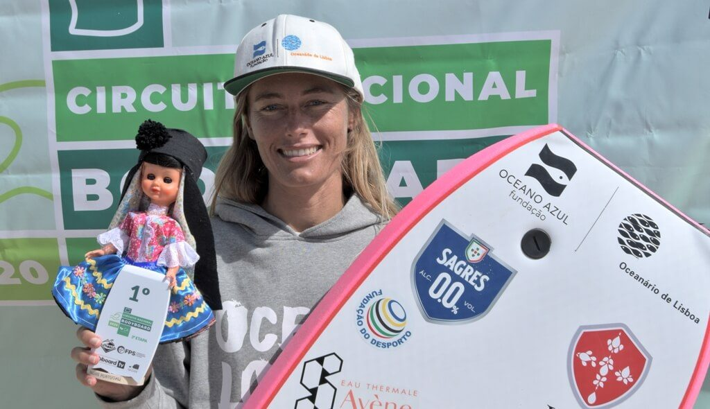 Joana Schenker wins national circuit event in Nazaré
