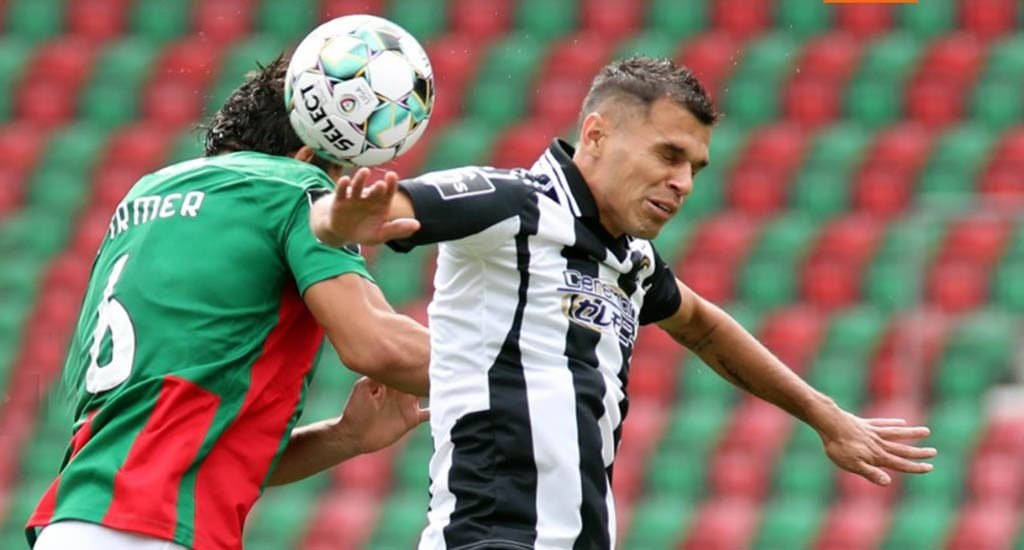 Portimonense becomes a marker in their favor in Funchal