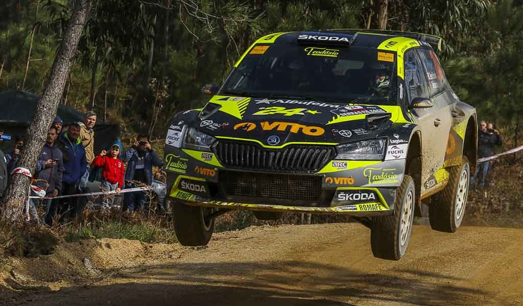 Ricardo Teodósio with maximum motivation for the Terras D'Aboboreira Rally, but the event should be postponed or canceled