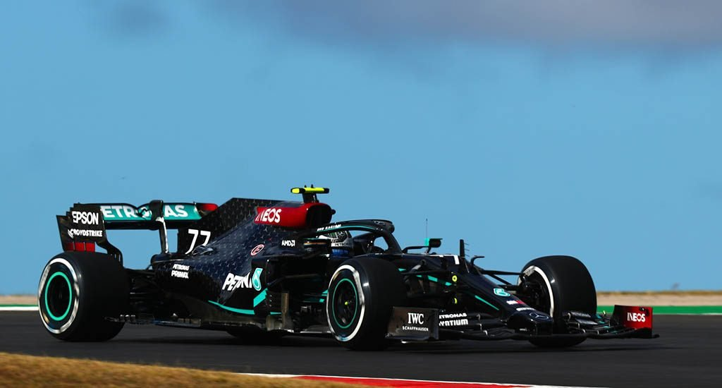 Valtteri Bottas remains fastest after troubled AIA session
