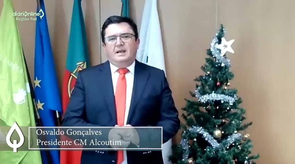 Christmas and New Year message from the Mayor of Alcoutim, Osvaldo Gonçalves