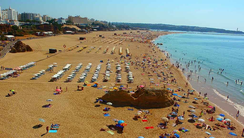 Algarve is the most popular European destination for British tourists for holidays in 2021