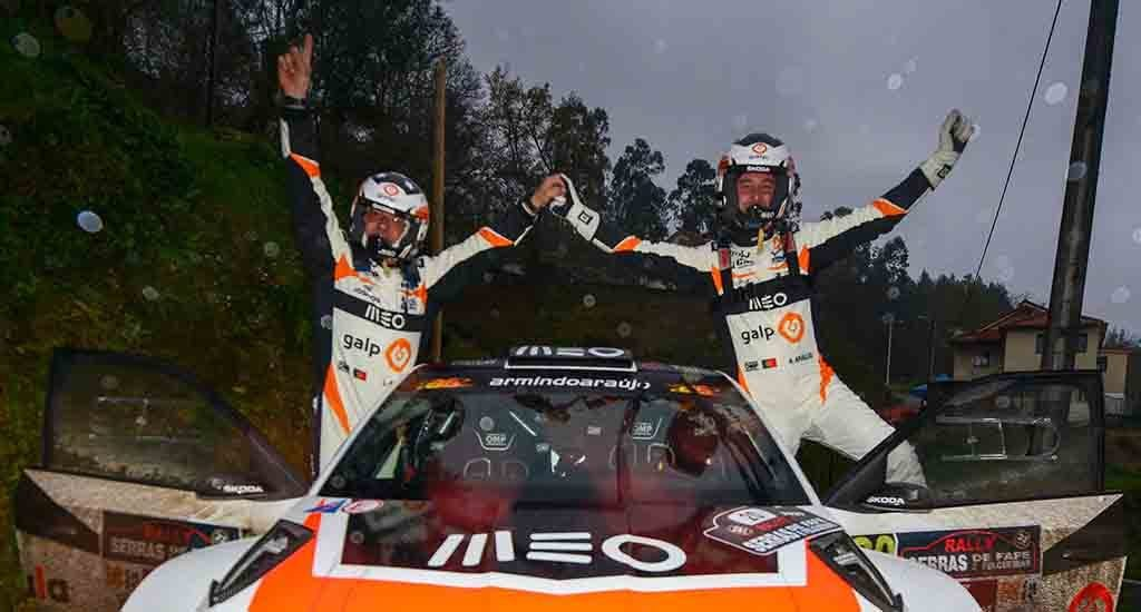 With the cancellation of the Rally Casinos do Algarve, Armindo Araujo is declared champion 2020