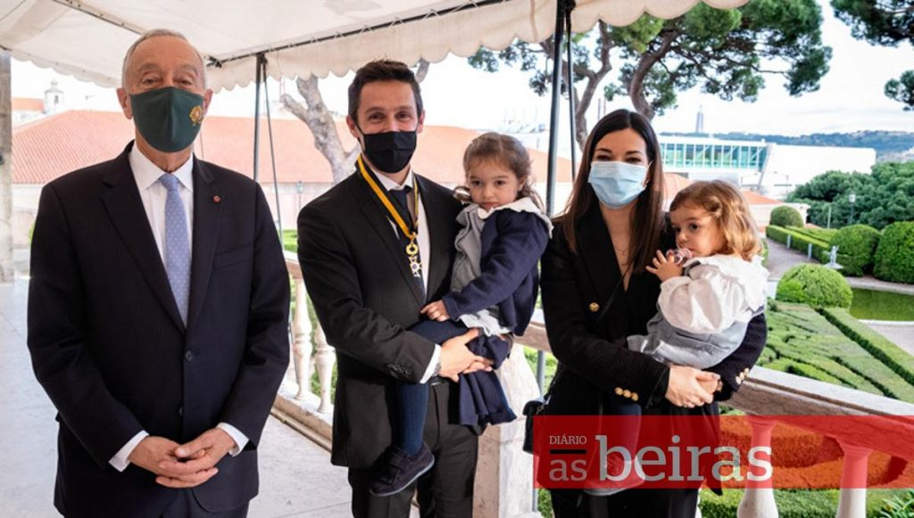 Diário As Beiras - Filipe Albuquerque decorated by the President of the Republic (with video)
