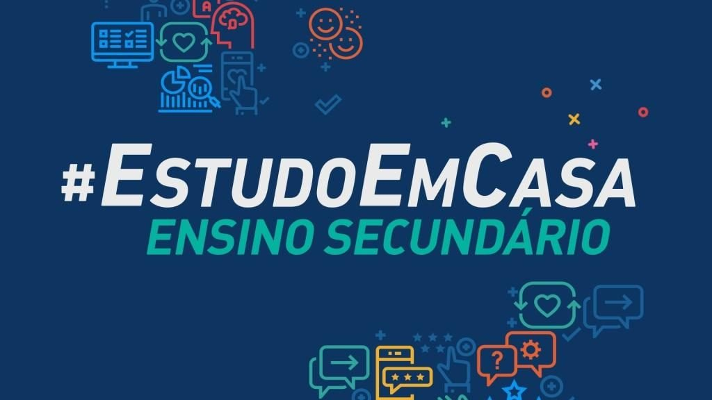 """#EstudoEmCasa """"classes"""" for secondary education come to television today"""