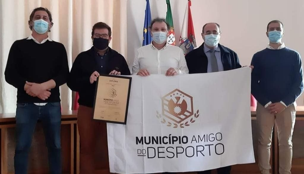 Faro receives the flag of «Sport-Friendly Municipality»
