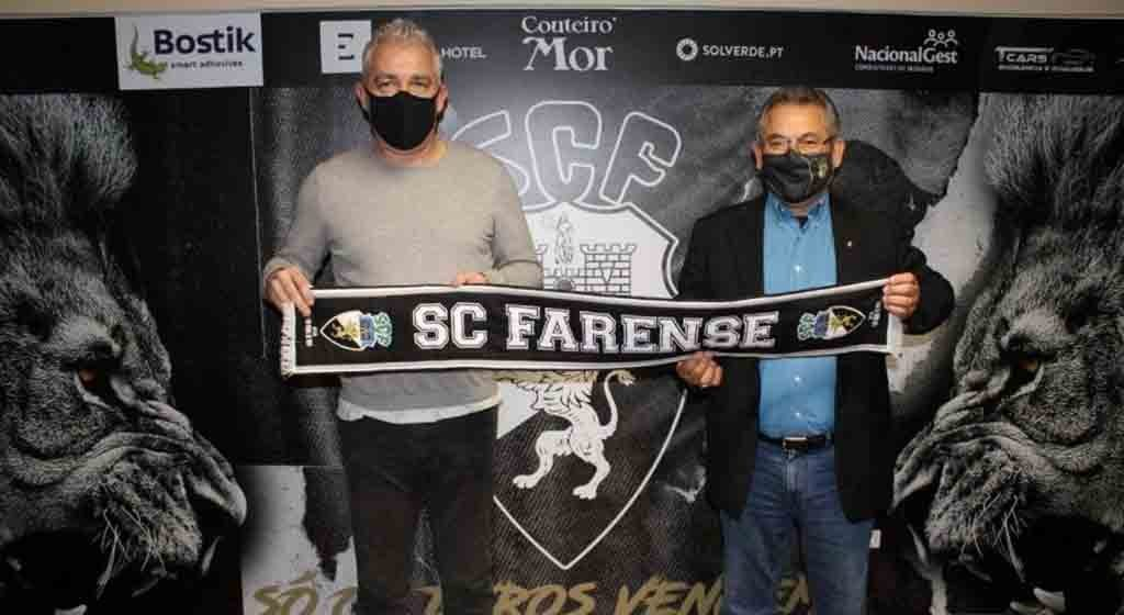 It's official, Jorge Costa is coach of Farense