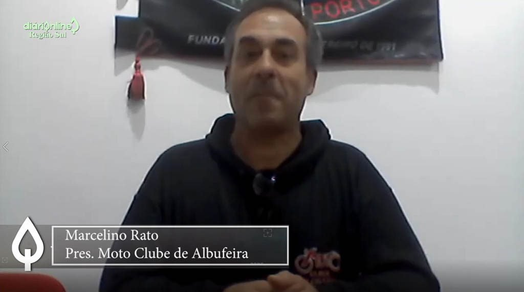 Marcelino Rato speaks of the 30 years of the Moto Clube de Albufeira