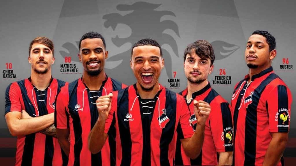 Olhanense presents five players from a seated