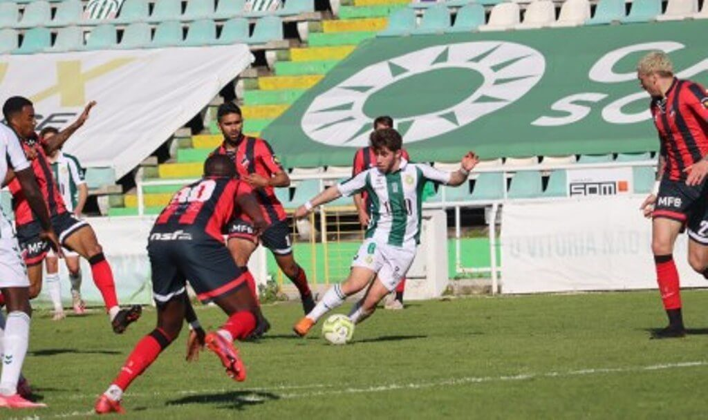 Olhanense yields a draw in discounts in Setúbal, Louletano and Esp. Lagos win