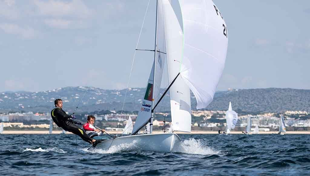 Dupla Costa rises to 4th place at the 470 World Cup in Vilamoura