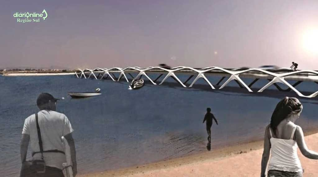 """""""Finally, there are people interested in building the bridge to the island of Faro…"""" - Rogério Bacalhau / CM Faro"""