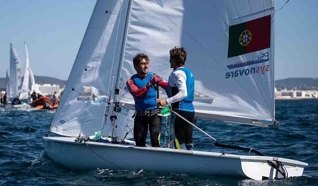 Portugal is runner-up in the world in sailing in the 470 class