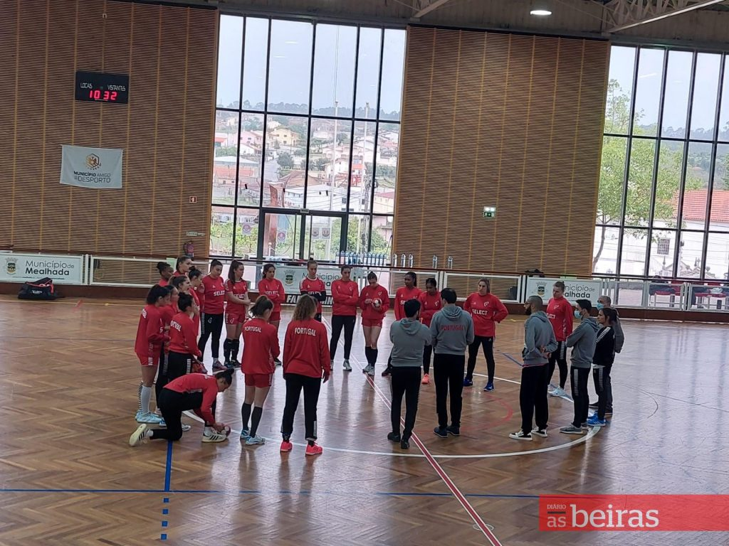 Diário As Beiras - Portugal maintains base in search of an unprecedented spot in the Women's Handball World Cup2021
