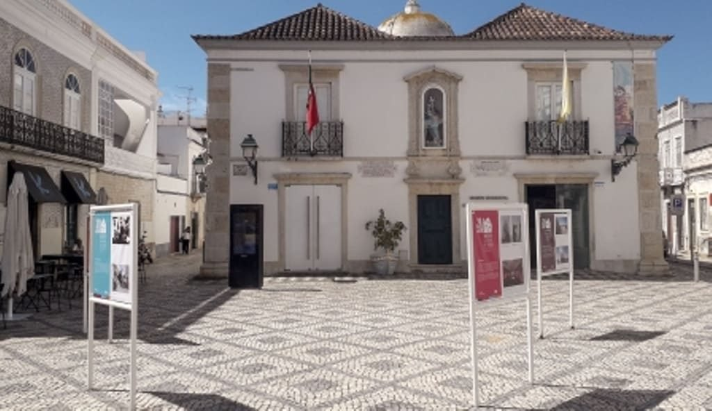 Street exhibition «20 Years of Museum» in Olhão